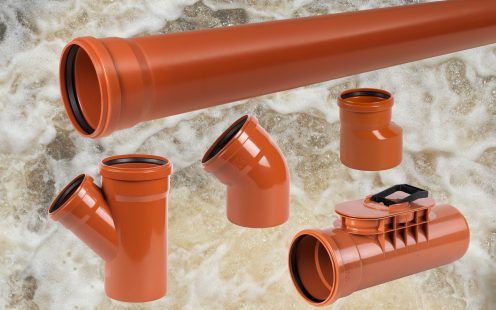 Product Group PVC sewage pipes